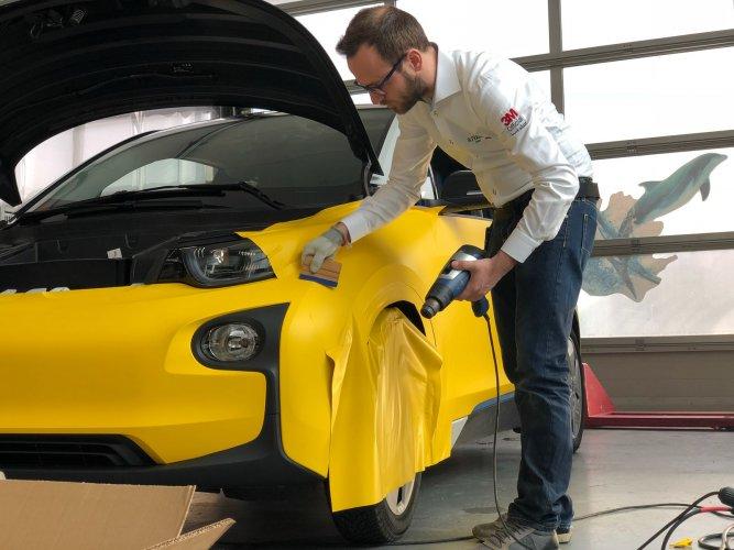 installatore 3M Trento - rivestimento auto
