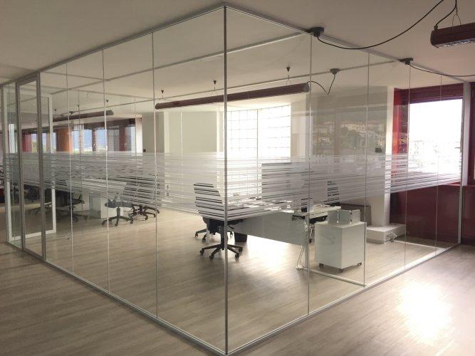 pellicole vetri rivestimento vetrate uffici