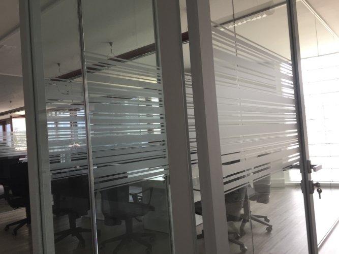 pellicole vetri rivestimento vetrate uffici - dettaglio