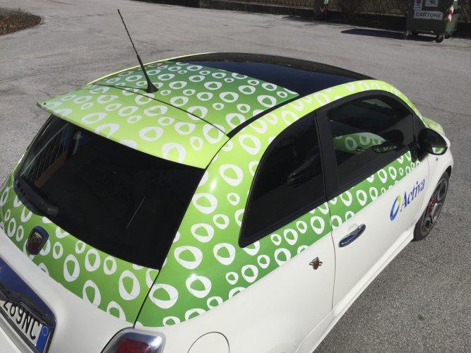 pellicola wrapping auto Activa