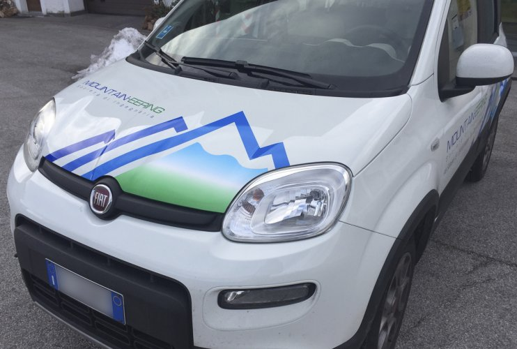 pellicola wrapping auto Mountaieering