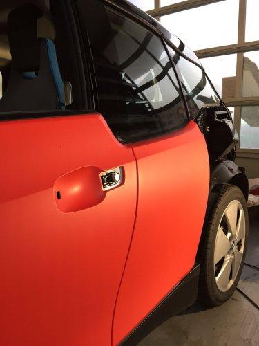 cambiare colore auto con la pellicola wrapping 3M - red